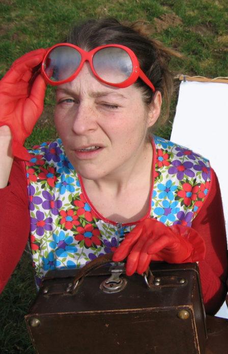 Métierde Gaëlle : colportrice de poésie