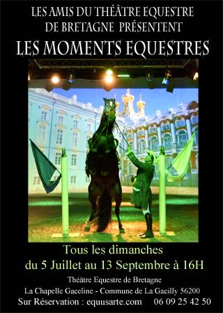 Moments équestres @ Théâtre équestre de Bretagne