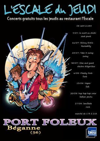 Les concerts de l'été à Foleux @ Restaurant L'Escale de Foleux