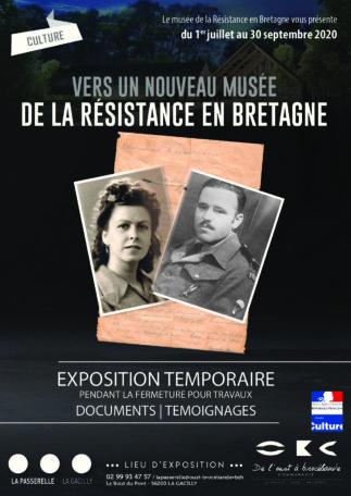 Exposition : rendez-vous avec le futur Musée de la résistance en Bretagne @ La Passerelle