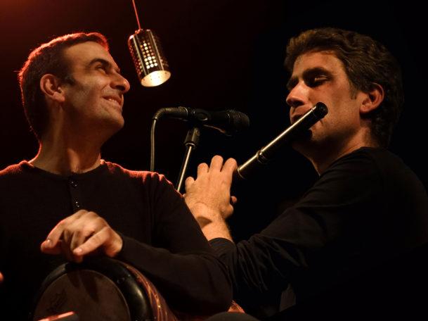 Concert Erwan Hamon & Yousef Zayed @ Cloître du Petit Théâtre Notre Dame