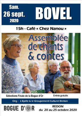 Assemblée de chants et contes @ Café Chez Nanou