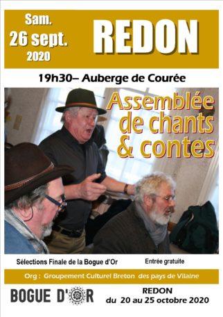 Assemblée de chants et contes @ Auberge de Courée
