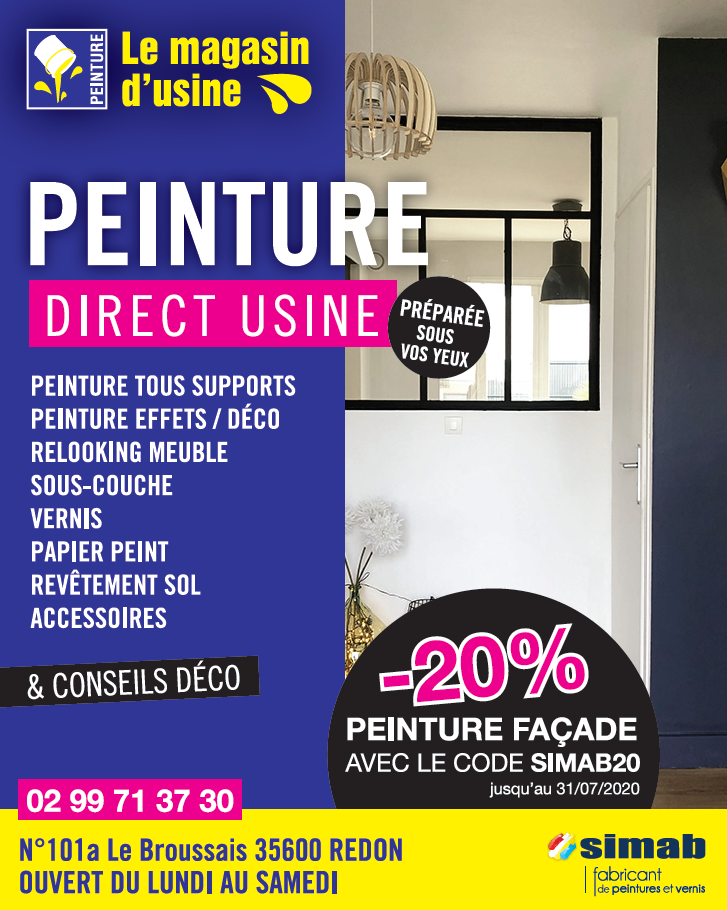 Le magasin d'usine Peinture