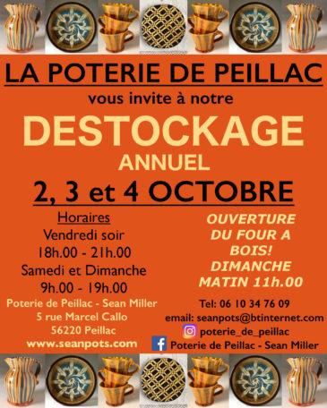 Déstockage Annuel Poterie de Peillac @ Poterie de Peillac - Sean Miller