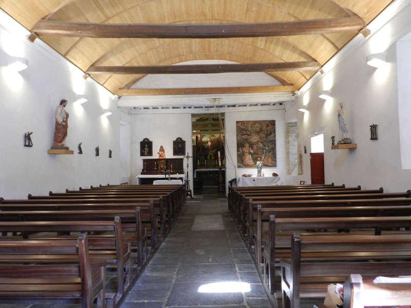 Visite de l'église du Temple