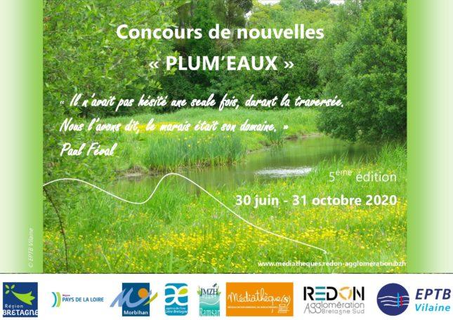 Concours de nouvelles «Plum'eaux» 2020 @ Médiathèque communautaire