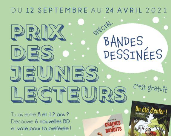 Prix jeunes lecteurs BD @ La Médiathèque