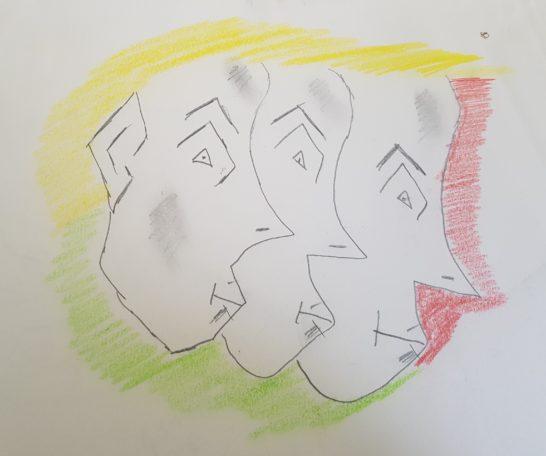 Exposition des dessins de l'artiste Sébastien Montoir @ Médiathèque communautaire