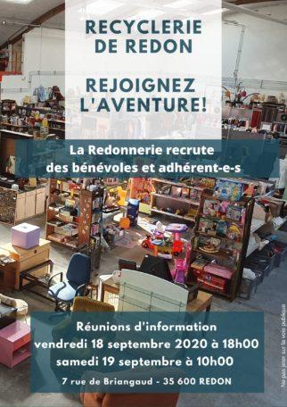 La Redonnerie - Réunion d'information bénévoles @ La Redonnerie