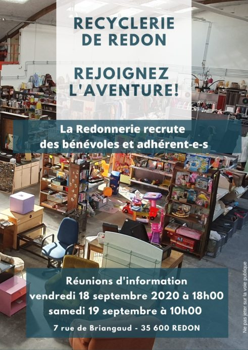 La Redonnerie – Réunion d'information bénévoles
