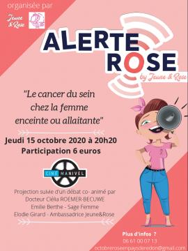 Ciné-échange : Alerte Rose