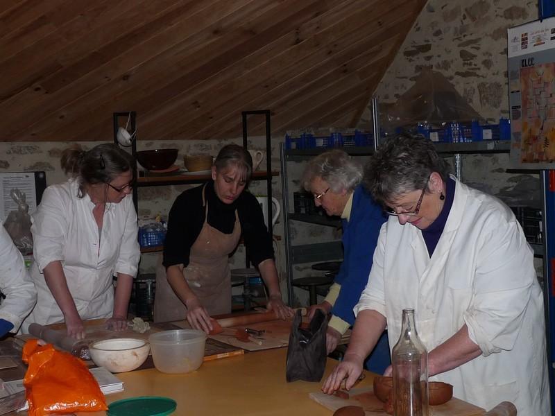 Permanence-Inscription aux ateliers de poterie