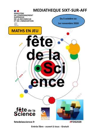 Exposition : maths en jeu @ Médiathèque