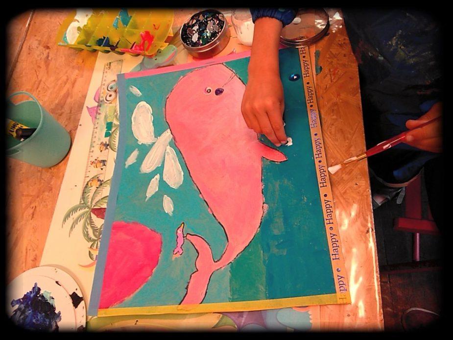 Atelier découverte de peinture créative enfants et pré-ados