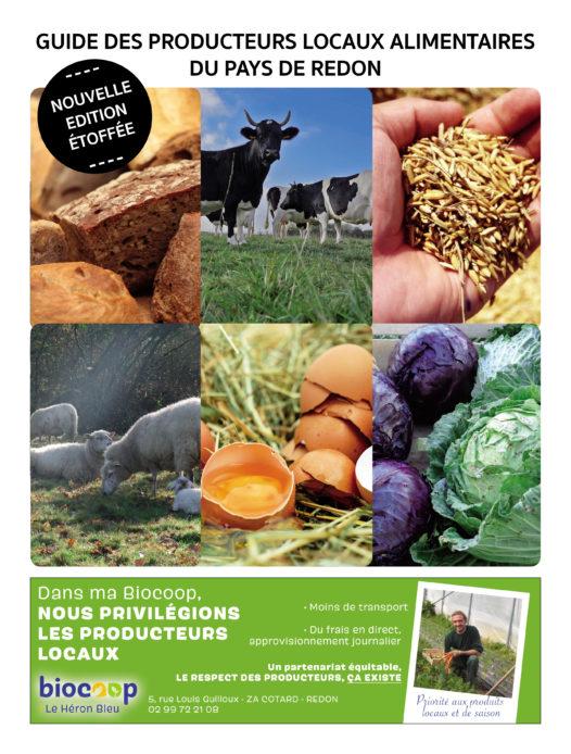 Un guide pour connaître les producteurs locaux du Pays de Redon