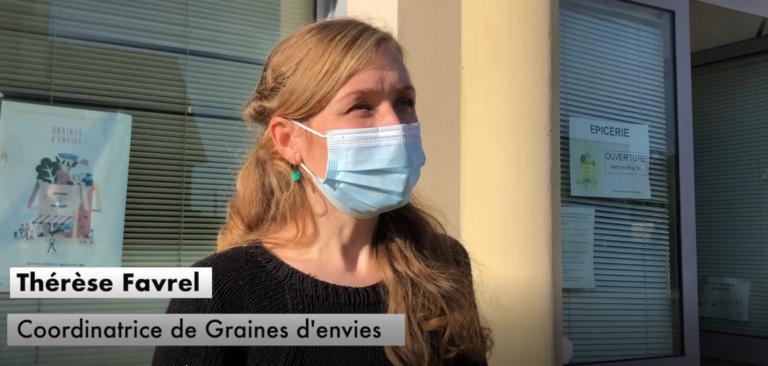 Reportage vidéo à Graines d'envies, épicerie solidaire à Allaire