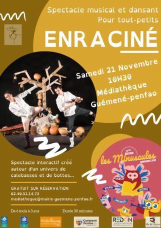 Attention : Annulé ! Spectacle : «Enraciné» @ Médiathèque