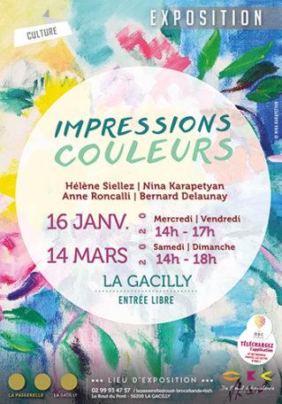 """Exposition """"Impressions couleurs"""" @ La Passerelle"""
