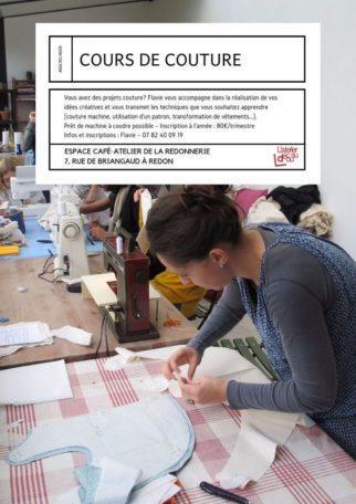 Atelier couture @ La Redonnerie - Café-atelier
