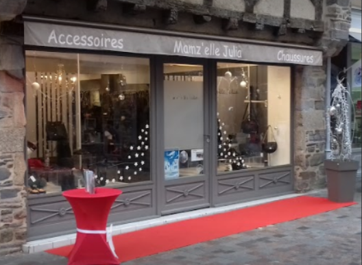 magasin chaussures accessoires redon