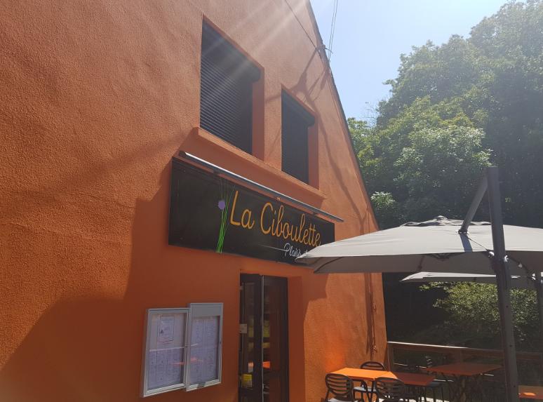 rives de l'oust Peillac restaurantla ciboulette