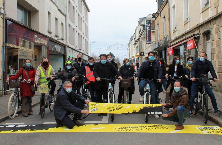 Tour de France à Redon : Cactus fait le point avec Benoît Quélard, adjoint au Maire