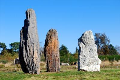 Visite découverte alignement de menhirs