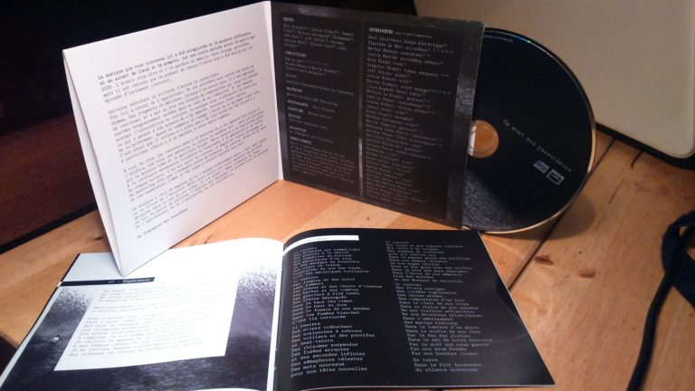 """Livret de l'album """"Ce sont nos parenthèses"""""""