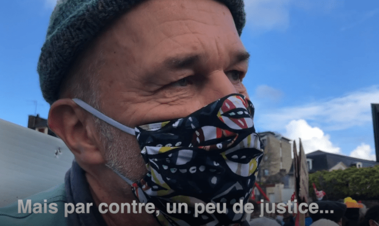 Manifestation des acteurs culturels à Redon