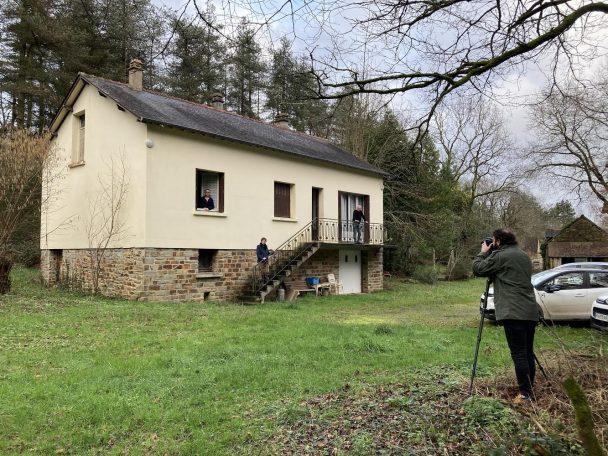 Mélopée ou une maison neuve à Langon