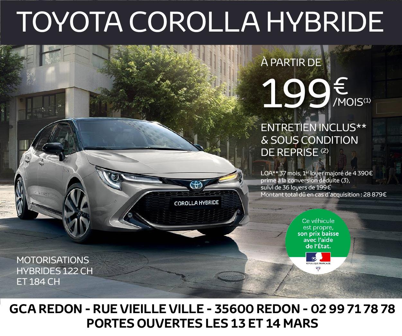 Portes ouvertes chez Toyota Redon !