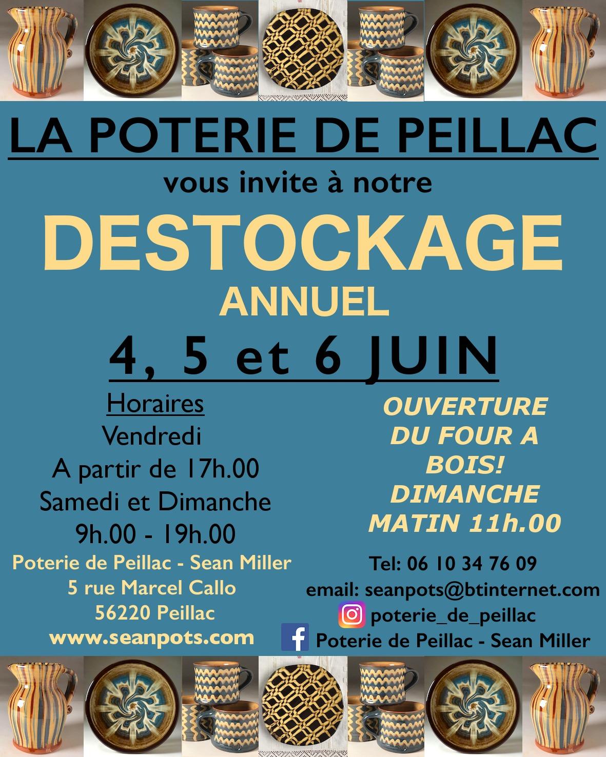 Déstockage annuel à la Poterie de Peillac