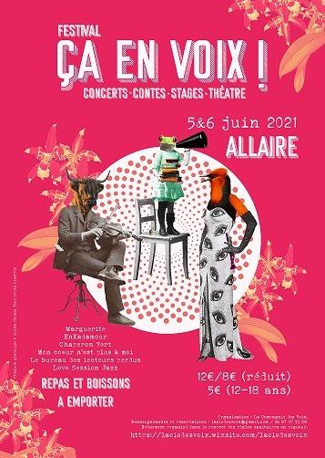 """Festival """"Ça en Voix"""""""