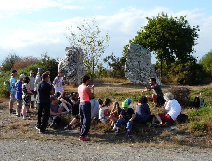 Visite guidée : Mégalithes et Landes, comprendre et rêver