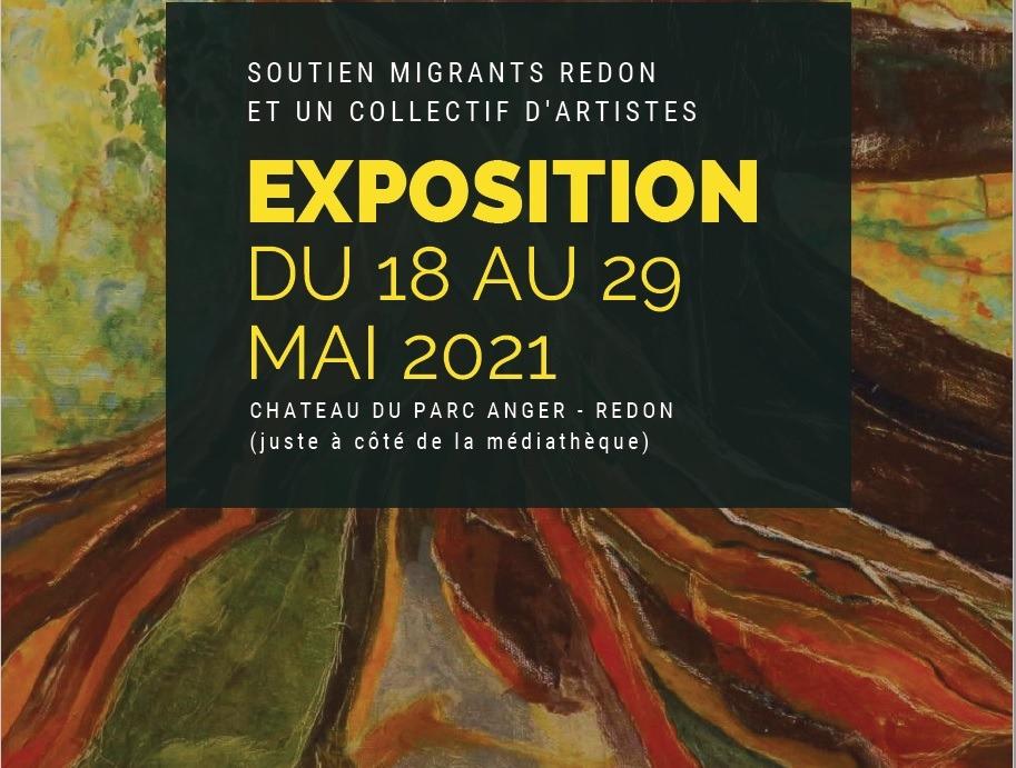 "Exposition ""Soutien Migrants"""