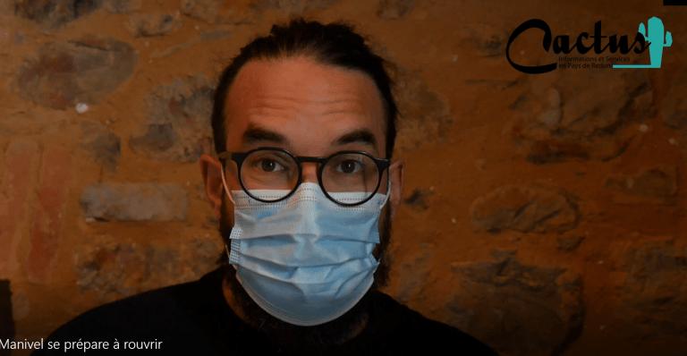 Reportage vidéo : Le ciné Manivel réouvre !