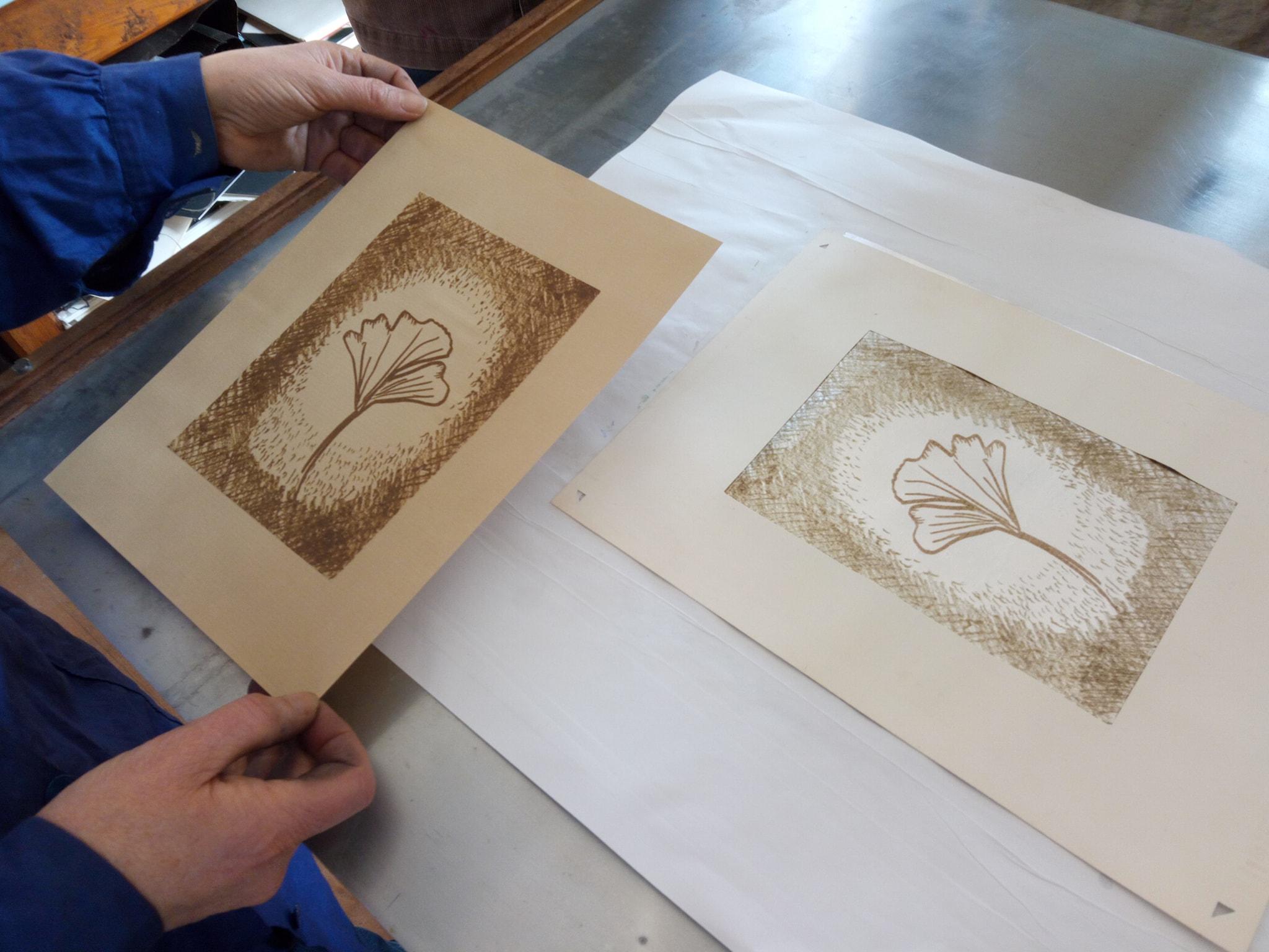 Atelier : initiation gravure