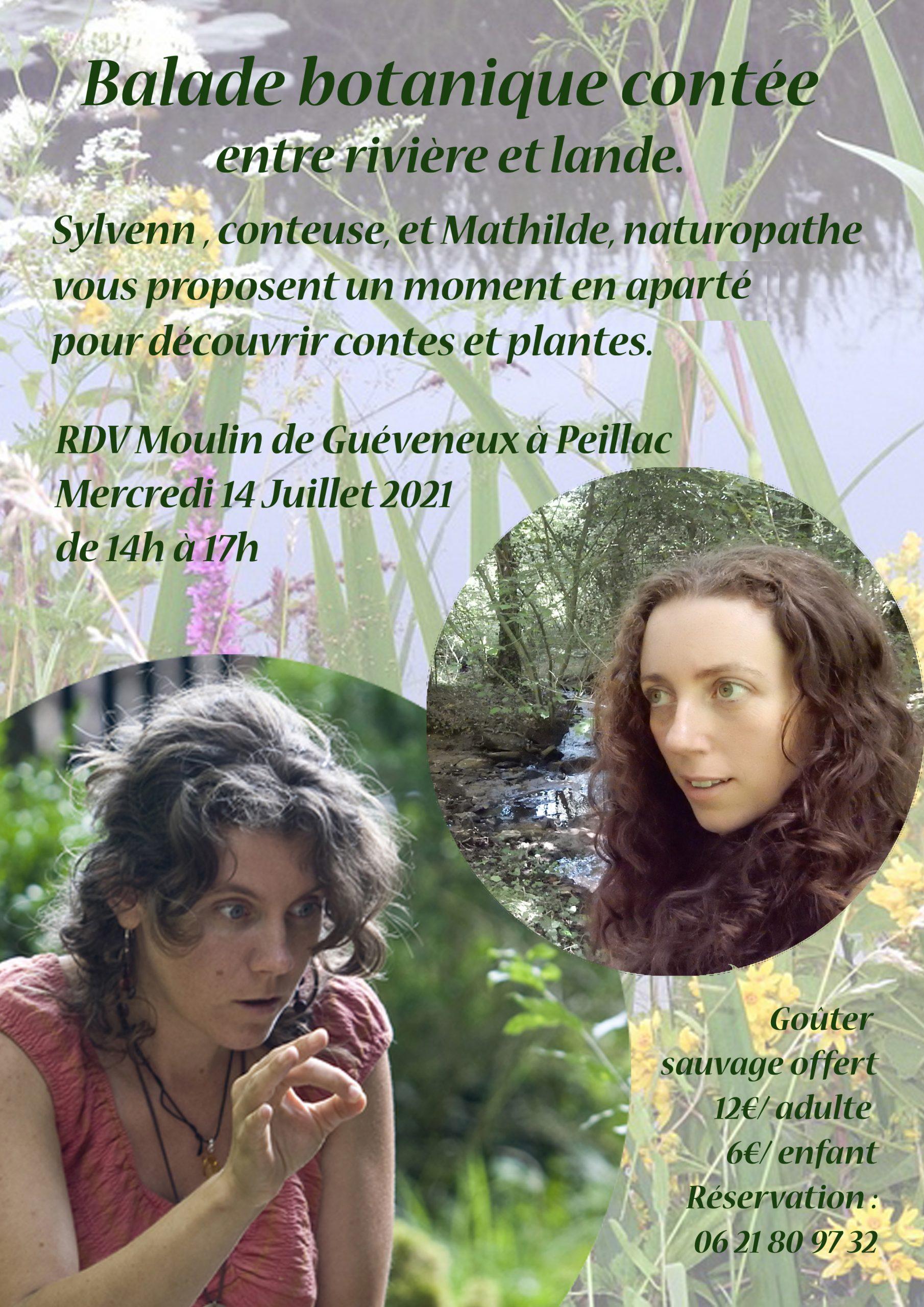 Balade botanique contée