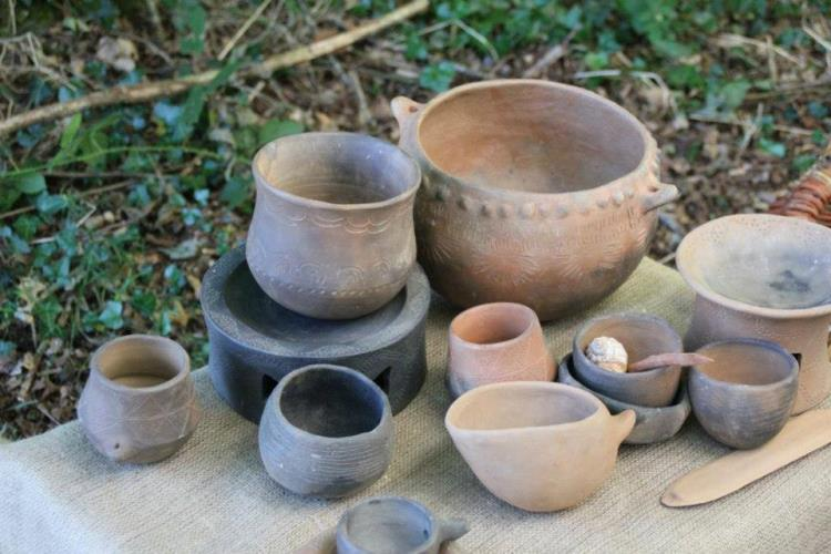 Atelier : poterie néolithique