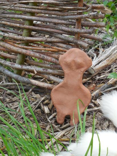 Atelier : statuette néolithique