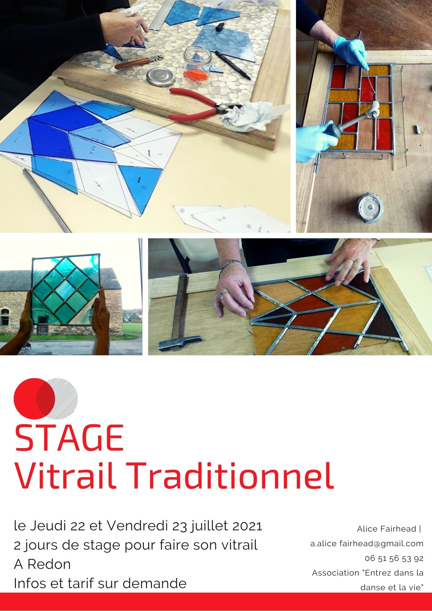 Stage VITRAIL TRADITIONNEL