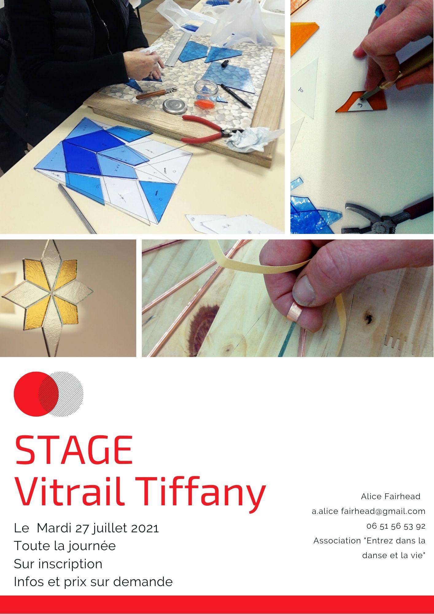 Stage VITRAIL TIFFANY
