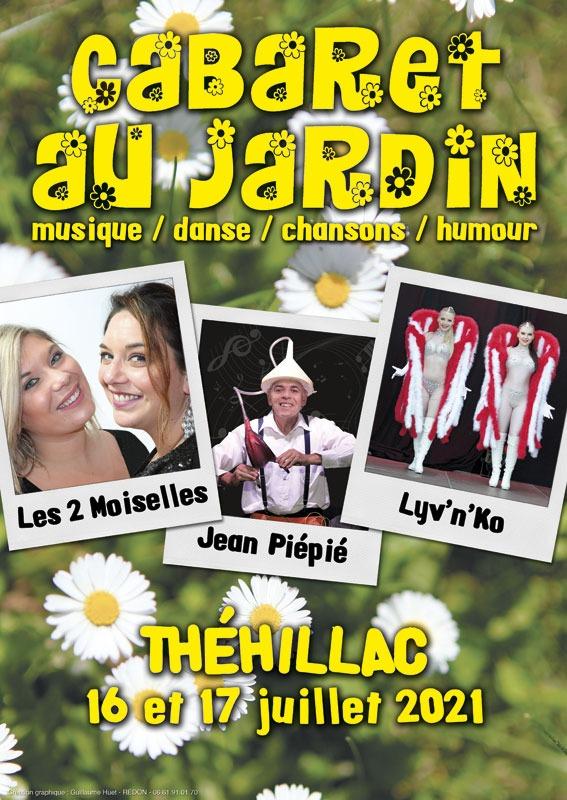 """Soirées """"Cabaret au Jardin"""""""