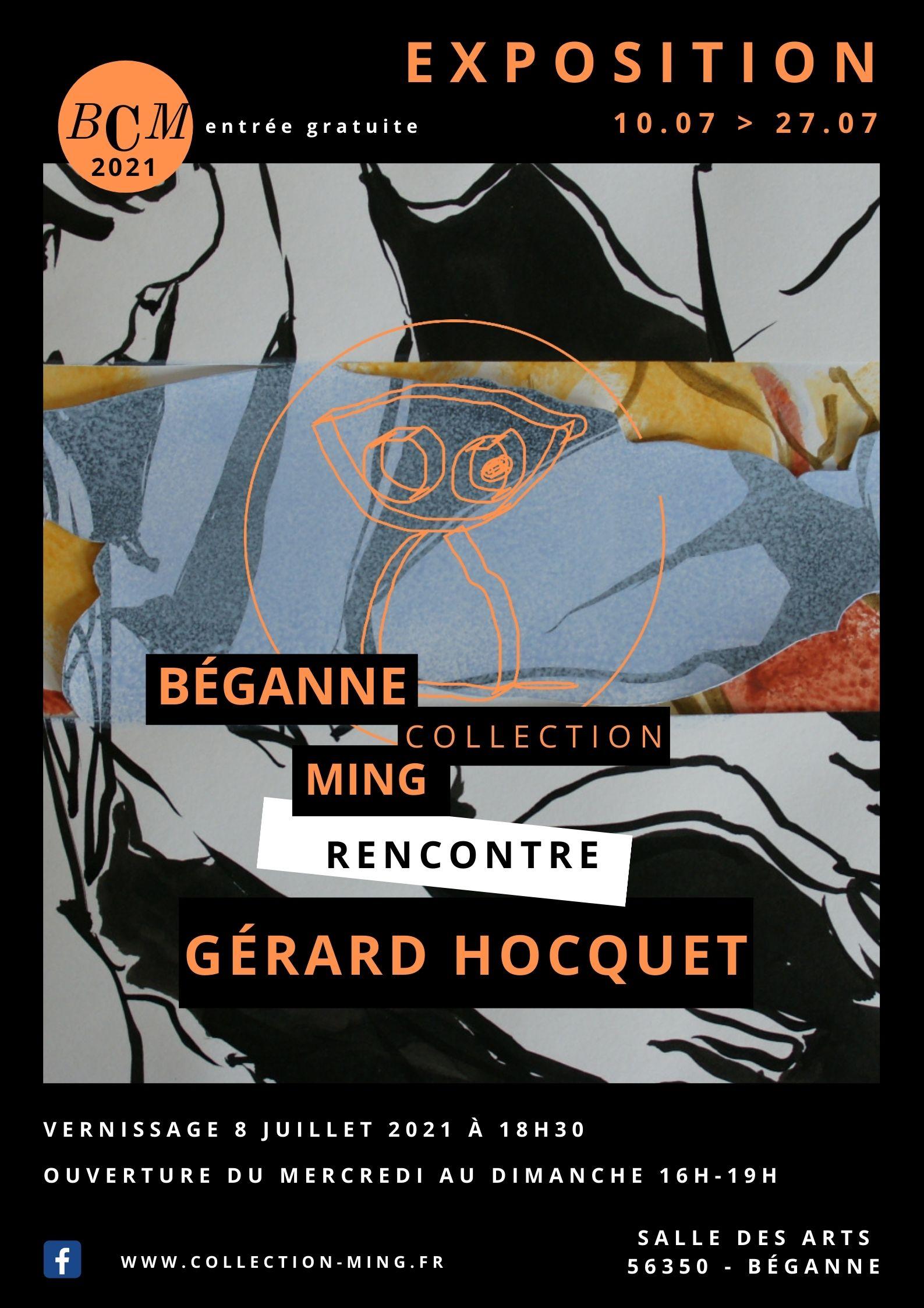 Exposition Gérard Hocquet