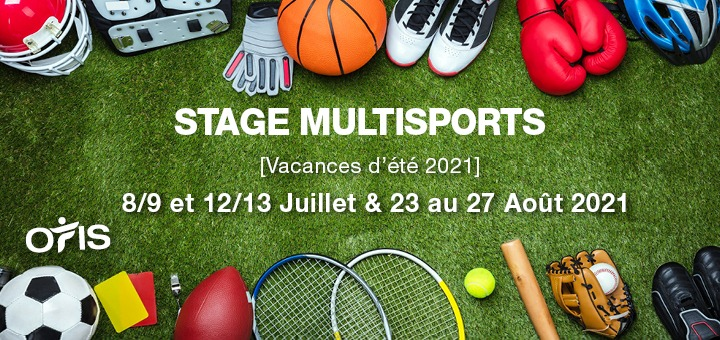 Stage Multisports d'août