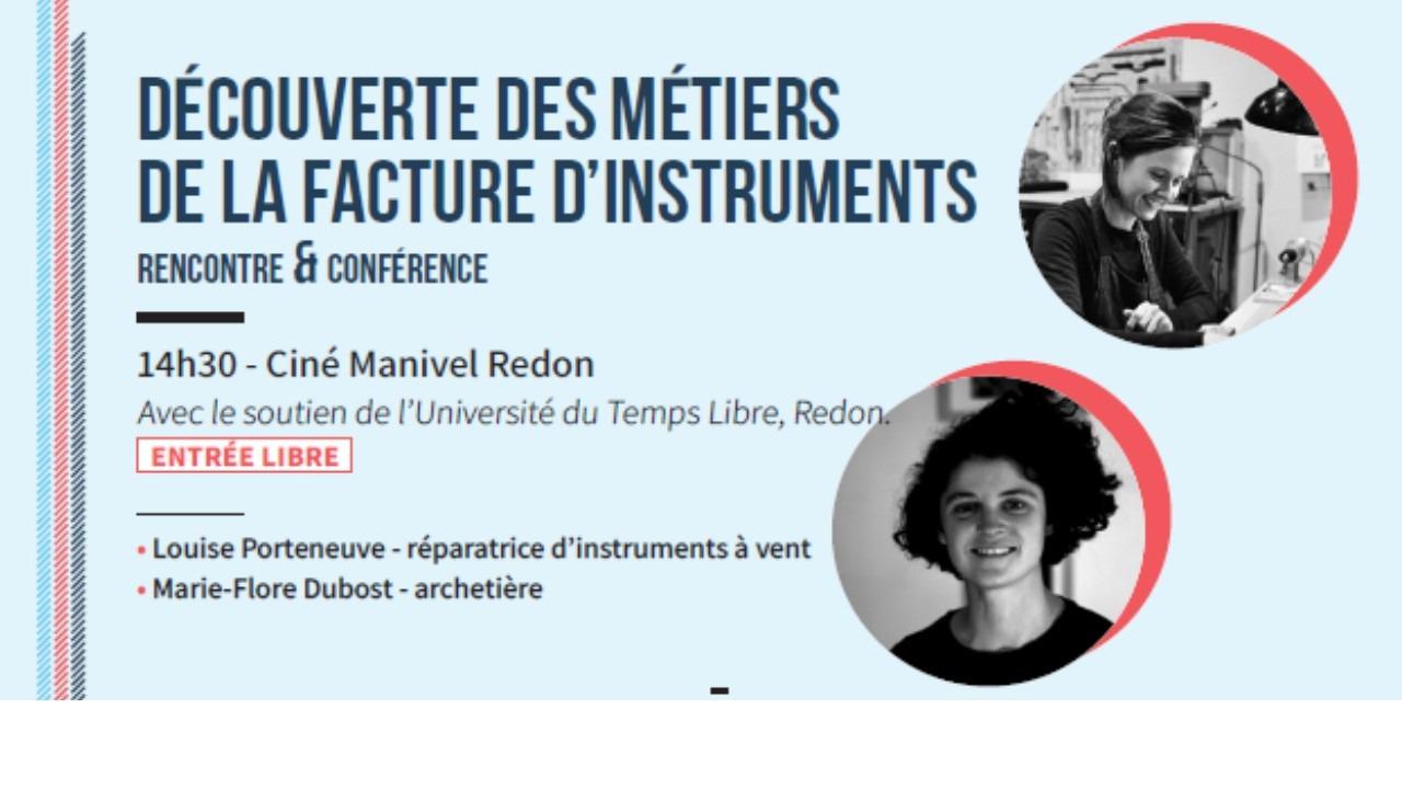 Rencontre-Conférence Métiers de la Musique