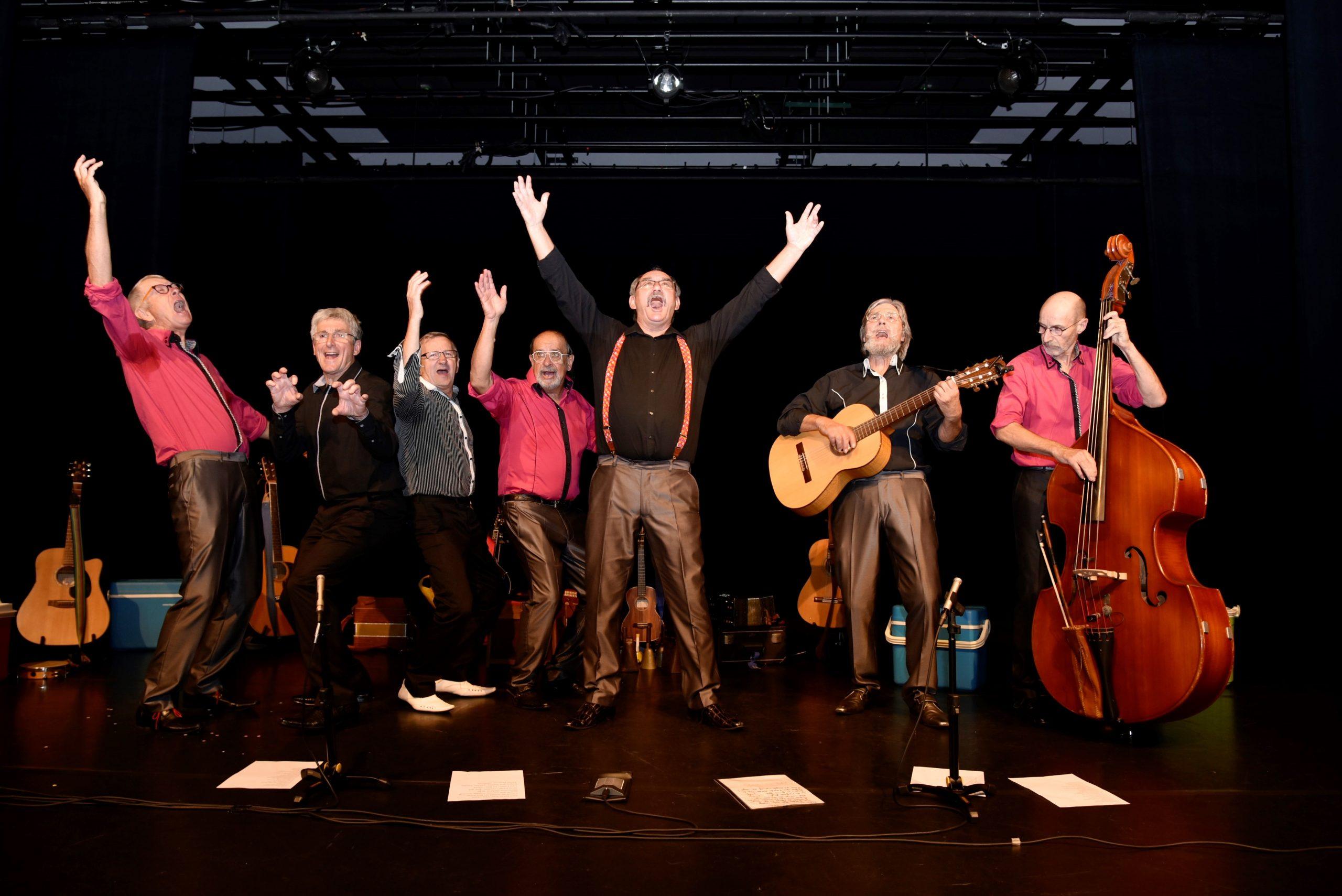 Les Matous, concert