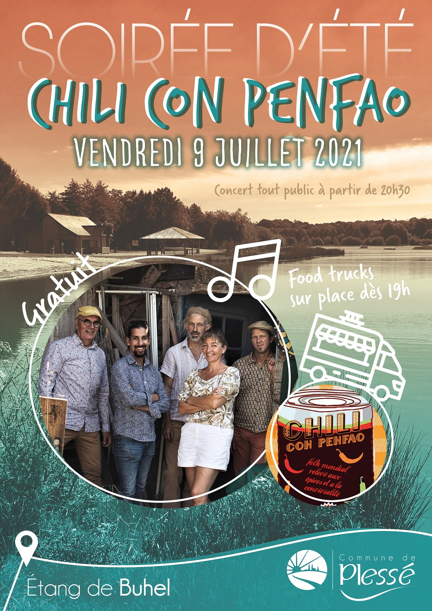 """Concert """"Chili Con Penfao"""""""