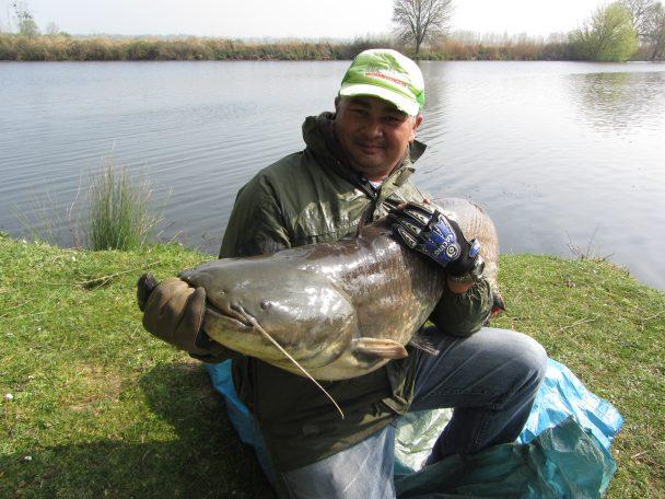 Frédéric: pêcheur et défenseur du silure